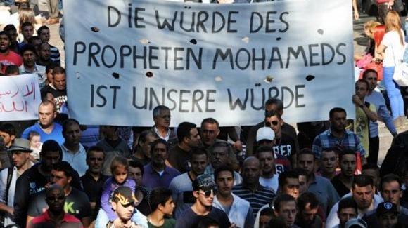 Wuerde des Mohammed ist unsere Wuerde